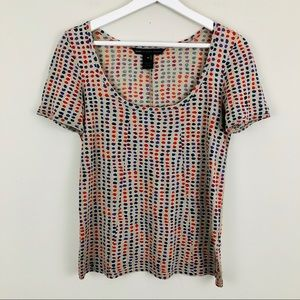 Marc Jacobs Dot Print Short Sleeve T-shirt